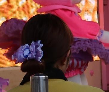 ハーモニーランド,ハローキティ45周年記念イベントでもらえる限定のヘアゴム