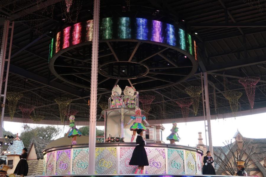 ハーモニーランド,ハローキティ45周年記念イベント,パレードの雰囲気