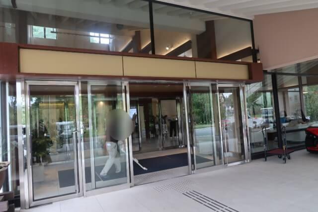 ネスタリゾート神戸,入り口