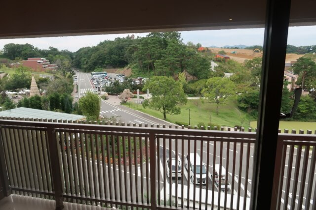 ネスタリゾート神戸,客室から外を見た雰囲気