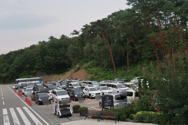 ネスタリゾート神戸,駐車場