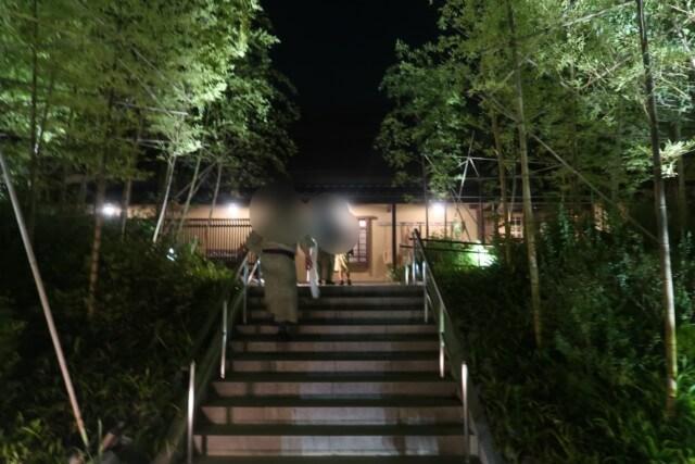 ネスタリゾート神戸の温泉,延羽の湯の入り口